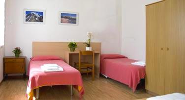 camera centro della famiglia hospitality treviso