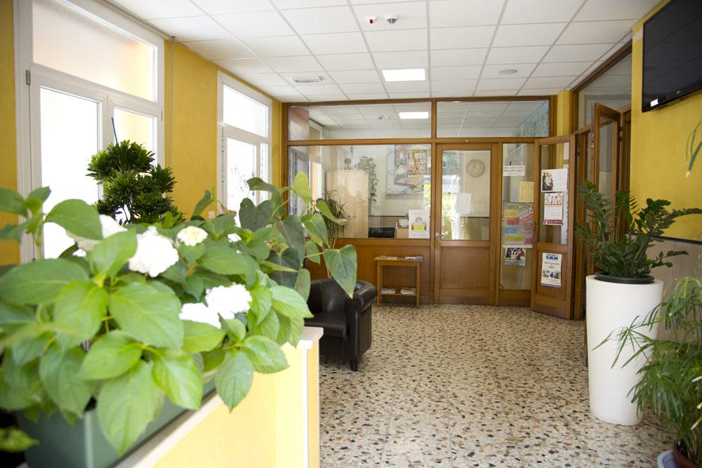 hall centro della famiglia hospitality
