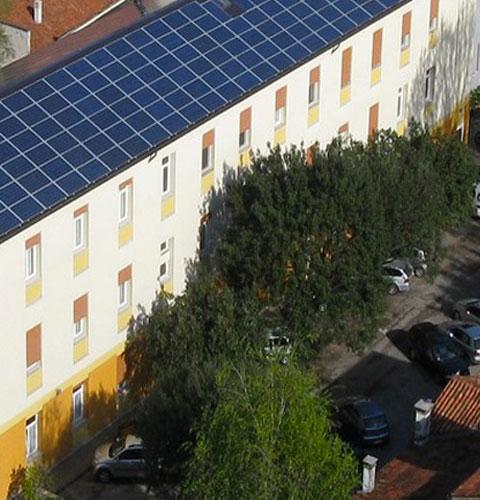 Ampio parcheggio interno - B&B Centro della Famiglia Treviso