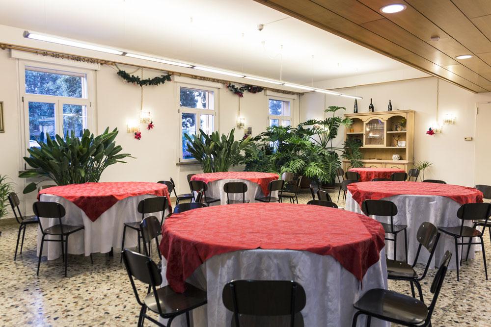 sala comune colazioni- B&B Centro della Famiglia Treviso